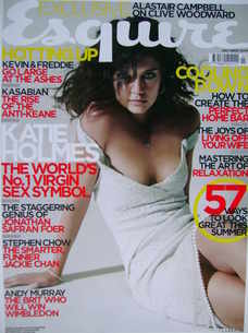 <!--2005-07-->Esquire magazine - Katie Holmes cover (July 2005)