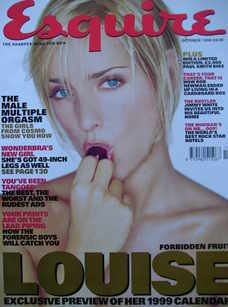 <!--1998-10-->Esquire magazine - Louise Redknapp cover (October 1998)