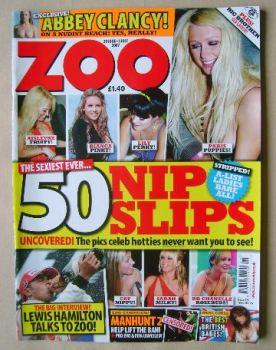 Zoo magazine - 50 Nip Slips cover (29 June - 5 July 2007)