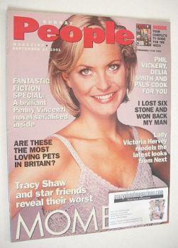 Sunday People magazine - 23 September 2001 - Tracy Shaw cover