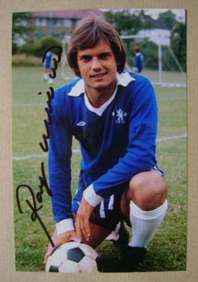 Ray Wilkins autograph