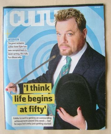 <!--2016-06-05-->Culture magazine - Eddie Izzard cover (5 June 2016)