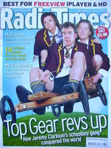 <!--2010-06-26-->Radio Times magazine - Richard Hammond, Jeremy Clarkson an