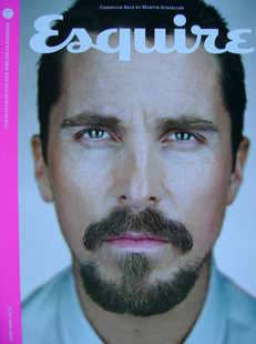 Esquire magazine - Christian Bale cover (June 2009 - Subscriber's Issue)