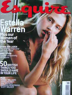 <!--2001-11-->Esquire magazine - Estella Warren cover (November 2001)