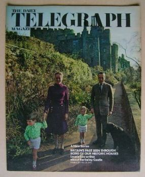 The Daily Telegraph magazine - Historic Houses cover (26 May 1972)