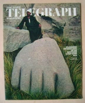 The Daily Telegraph magazine - Egyptians cover (10 March 1972)