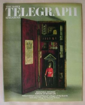 The Daily Telegraph magazine - Aspects Of British Life cover (16 February 1973)