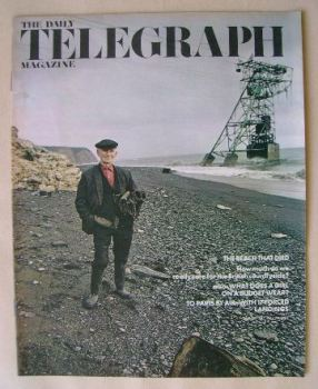 The Daily Telegraph magazine - The Beach That Died cover (30 July 1971)