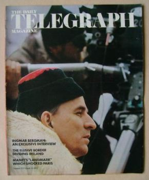 The Daily Telegraph magazine - Ingmar Bergman cover (12 March 1971)