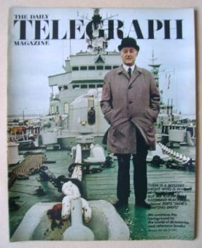 The Daily Telegraph magazine - Raymond Blackman cover (21 July 1972)