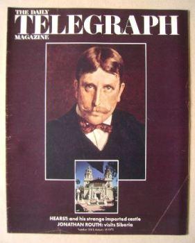 The Daily Telegraph magazine - Shrine For Citizen Hearst cover (19 February 1971)