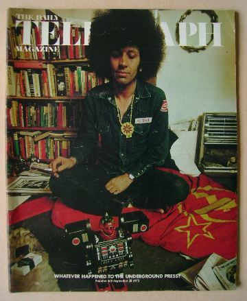 <!--1973-09-28-->The Daily Telegraph magazine - Mick Farren cover (28 Septe