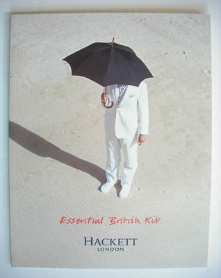 Hackett brochure - Spring/Summer 2003