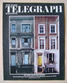 The Daily Telegraph magazine - House Conversion cover (12 January 1973)