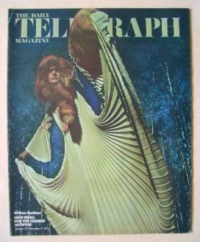 The Daily Telegraph magazine - Winter Fashion cover (17 December 1971)
