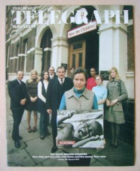 The Daily Telegraph magazine - Charities cover (9 March 1973)