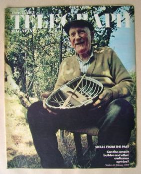 The Daily Telegraph magazine - Skills From The Past cover (2 February 1973)