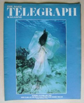 The Daily Telegraph magazine - Fashion Under The Sea cover (14 July 1972)
