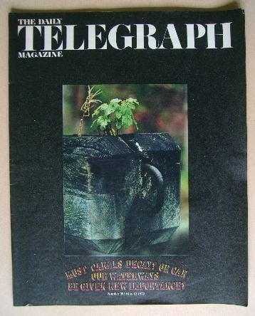 <!--1972-05-12-->The Daily Telegraph magazine - 12 May 1972