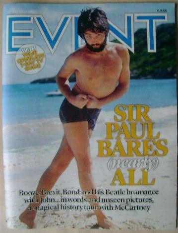 <!--2016-06-05-->Event magazine - Paul McCartney cover (5 June 2016)