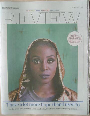 The Daily Telegraph Review newspaper supplement - 18 June 2016 - Laura Mvul