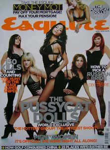 <!--2006-04-->Esquire magazine - The Pussycat Dolls cover (April 2006)