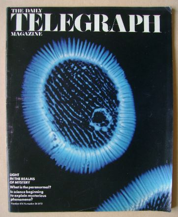<!--1973-11-30-->The Daily Telegraph magazine - 30 November 1973