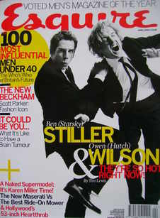 <!--2004-04-->Esquire magazine - Ben Stiller and Owen Wilson cover (April 2