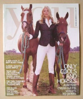 <!--2002-11-03-->You magazine - Jodie Kidd cover (3 November 2002)