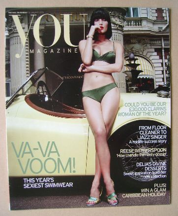 <!--2006-01-22-->You magazine - Daniela Federici cover (22 January 2006)