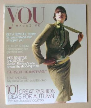 You magazine - Fashion Ideas For Autumn cover (26 September 2004)