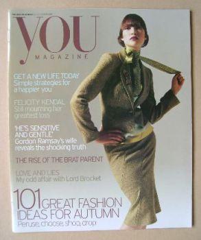 <!--20004-09-26-->You magazine - Fashion Ideas For Autumn cover (26 September 2004)
