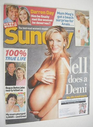 <!--2006-08-20-->Sunday magazine - 20 August 2006 - Nell McAndrew cover