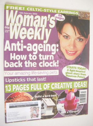 <!--2002-11-19-->Woman's Weekly magazine (19 November 2002)