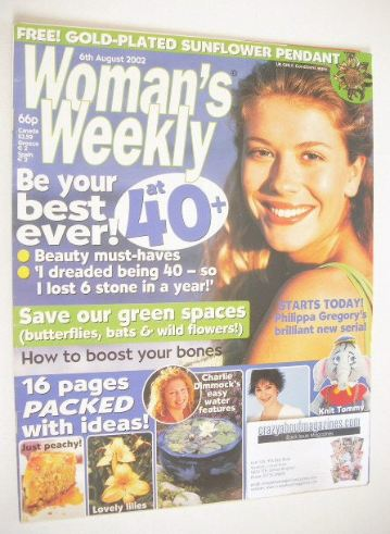<!--2002-08-06-->Woman's Weekly magazine (6 August 2002)
