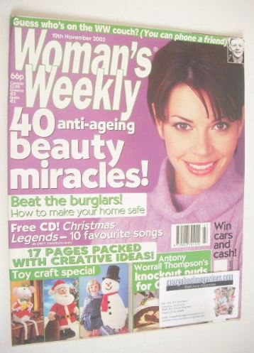 <!--2002-02-12-->Woman's Weekly magazine (12 February 2002)