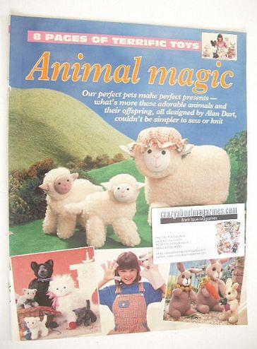 Animal Magic knitting/sewing patterns (by Alan Dart)