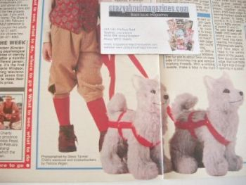 Husky sewing pattern (designed by Alan Dart)