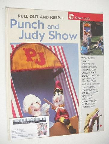 Punch and Judy Show to make (by Alan Dart)