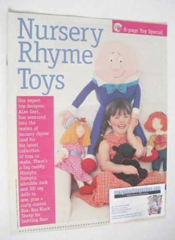 Nursery Rhyme Toys to sew/knit (by Alan Dart)