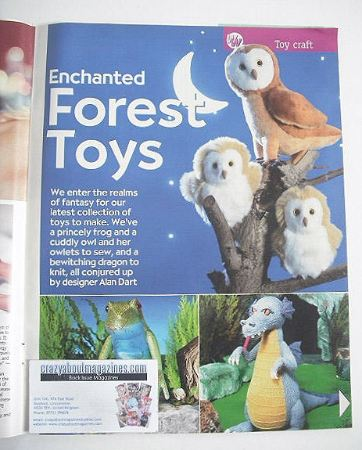Enchanted Forest Toys to make (designed by Alan Dart)