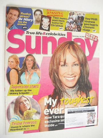 <!--2005-12-18-->Sunday magazine - 18 December 2005 - Tara Palmer-Tomkinson