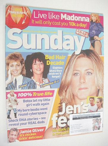 <!--2006-02-05-->Sunday magazine - 5 February 2006 - Jennifer Aniston cover