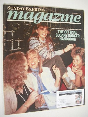 <!--1982-10-10-->Sunday Express magazine - 10 October 1982 - Sloane Rangers
