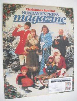 Sunday Express magazine - 19 December 1982 - Christmas Special Issue