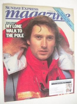 Sunday Express magazine - 27 February 1983 - David Hempleman-Adams cover