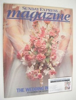 Sunday Express magazine - 3 April 1983 - The Wedding Industry cover