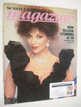 Sunday Express magazine - 22 May 1983 - Joan Collins cover
