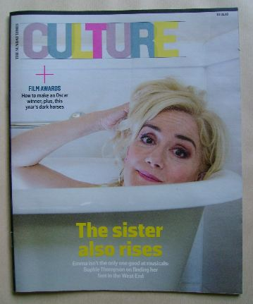 <!--2016-01-10-->Culture magazine - Sophie Thompson cover (10 January 2016)